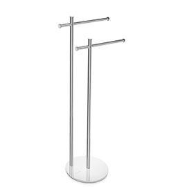 Free standing towel holder