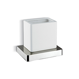 Wall mounted tumbler holder