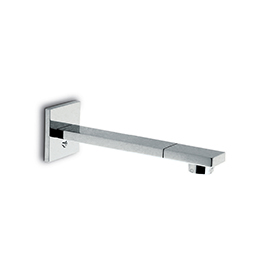 Wall spout for basin group