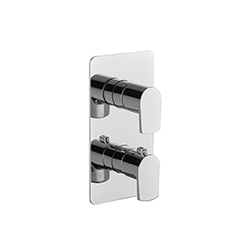 Thermostatic concealed mixer