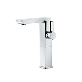 Single-lever mixer, high version for above counter basin, without pop-up waste set