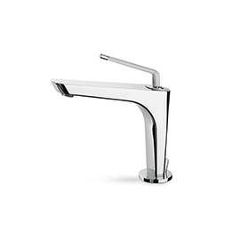 "Single-lever basin mixer with 1""1/4 pop-up waste set."