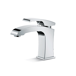 "Single-lever basin mixer with 1""1/4 pop up waste set."