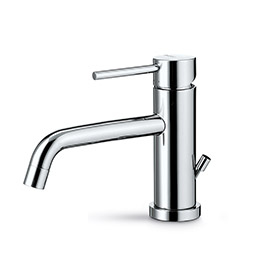 "Single-lever basin mixer with 1""1/4 pop up waste set"