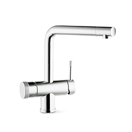 Sink mixer with boiling water sistem