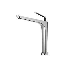 Single-lever swivel sink mixer
