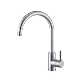 Single-lever sink mixer