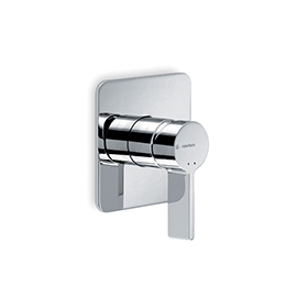 Single lever concealed shower mixer