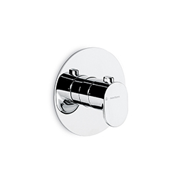 Thermostatic concealed shower mixer