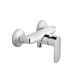 Single-lever exposed showermixer