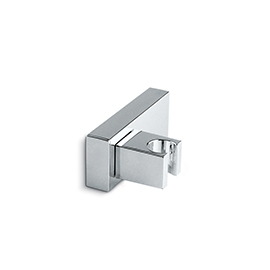 Adjustable holder for hand shower