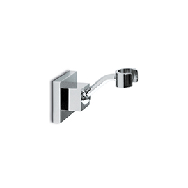 Adjustable support for hand shower