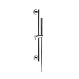 Complete shower set with ABS hand shower, LL. 150 cm PVC flexible, without wall union.