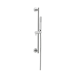 Complete shower set with ABS hand shower, LL. 150 cm flexible, without wall union.