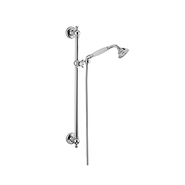 Complete shower set with hand shower, LL. 150 cm flexible, without wall union.