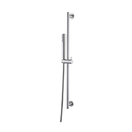 Complete shower set with hand shower, LL. 150 cm flexible, without wall union