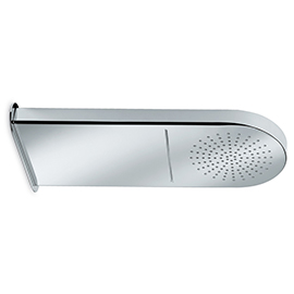 Stainless steel wall head shower