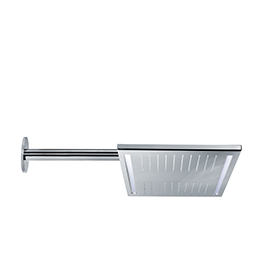 Stainless steel rectangular wall head shower