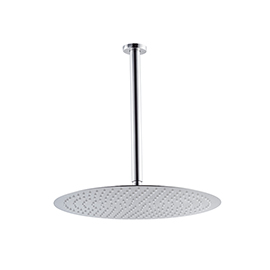 Ceiling head shower with raining jet