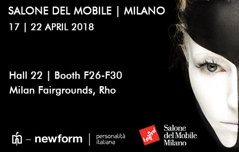 Newform in the spotlights at Salone del Mobile